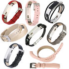 High Quality Genuine Leather Watch Wrist Bands Strap For Fitbit Alta Small Large