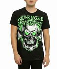 Avenged Sevenfold T-Shirt Skull Logo A7X heavy metal rock Official M L NWT