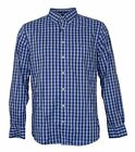 Brand New Mens Gant 'Heather Oxford Gingham' blue checked shirt