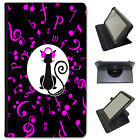 Musical Animals Universal Folio Leather Case For Huawei Tablets