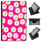Dainty Daisies Universal Folio Leather Case For Linx Tablets
