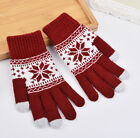 Fashion Unisex Christmas Xmas Screen Mobile Winter Warm Glove For iPhone