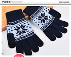 Fashion Unisex Christmas Xmas Touch Screen Mobile Winter Warm Glove For iPhone