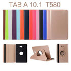 360 Rotating Leather Smart Stand Case Cover For Samsung Galaxy Tab Tablet + Film