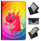 Mythical Magical Unicorns Dressing Universal Leather Case For Hipstreet Tablets