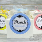 Personalised Children's Wedding Favour Activity Birthday | Gift Party Box Bag