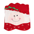 Xmas Party Home Decor Mrs Santa Claus Christmas Dinner Banquet Chair Back Cover