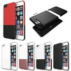 Shockproof 2 In 1 Hit Color Hard PC Phone Case Shell For Apple iPhone 7 Plus 6S