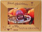 PERSONALISED FIRST CHRISTMAS AS MY MUMMY DADDYNAN GRANDA PHOTO FRAME BABY GIFT