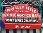 Chicago Cubs World Series Champions Wrigley Field MLB Baseball Photo CHOICES