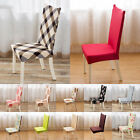 Stretch Spandex Dining Room Wedding Banquet Beauty Chair Seat Cover Party Decor