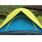 Family Camping Colorful 3-4 Person Tents Cabin Outdoor Hiking Beach Waterproof