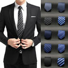 silk suits - New Fashion Striped Tie Jacquard Woven Men's Silk Suits Ties Necktie USWarehouse