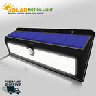 Solar Power Sensor Wall Light 62 LED Ultra Bright Wireless Rainproof Motion