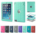 Shock Proof Builders Heavy Duty Tough Protect Case Covers for iPad Air 2 9.7