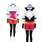 Women's Pokemon Go Trainer Team Valor Instinct Mystic Costume Blue Hoodie