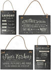 Slate Plaque - Dads Workshop Friend Prosecco Gin Love Mum Nan Sister Home Family
