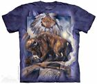Against All Odds T-Shirt by The Mountain. Wild Bull Zoo Animals Sizes S-5X NEW image