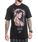 Sullen Baroque Mens Black T Shirt Tattoo Urban Streetwear David Garcia