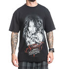 Sullen The Machine by Kirt Silver Mens Black T Shirt Tattoo Urban Streetwear