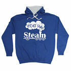 Let Off Some Steam HOODIE Trains Rail Toy Set Geek Nerd Funny Gift Birthday