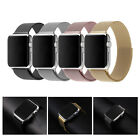 Magnetic 38/42mm Milanese Stainless Steel Loop iWatch Strap for Apple Watch Band