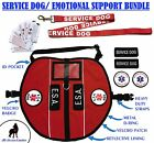 ALL ACCESS CANINE� Emotional Support Animal ESA Service Dog Vest CUSTOM Harness