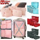 5 Luggage Zipped Storage Bag Clothes Underwear Tidy Organizer Suit Case Pouch