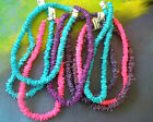 Puka Chip Shell Surfer Necklaces COLORS