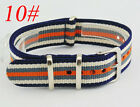 Army 18mm Watchband Fiber Woven Nylon Watch Strap Wristwatches Bands band straps