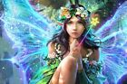 Modern Home art Decor fairy butterfly oil painting picture Printed on Canvas
