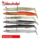 Sidewinder Skerries Eels - Cod Bass Wrasse Pollock Ling Sea Fishing Boat Lures
