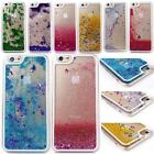 Glitter Stars Moving Liquid Hard Protective Case Cover For iPhone 4 5 5c 6 Plus