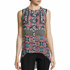 nicole by Nicole Miller High-Low Tank Top Size L New
