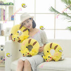 New Pokemon Pikachu Yellow Neck U-Shaped Soft Pillow Cushion Traveling Plush