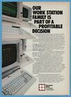 1985 Decision Data Computer Corporation DDCC Horsham PA vintage photo print ad