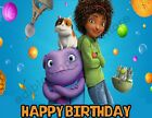 DreamWorks Home Personalized Edible Print Cake Topper Frosting Sheets 5 Sizes