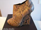 GIUSEPPE ZANOTTI   ankle boots wedge  40  EUR ONLY ONE!!! NEW  BOX SUPER PRICE