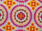 Mandala Fabric Orange Fuchsia Timeless Treasures Quilting Cotton FQ BTHY BTY