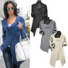 Women's Long Sleeve Knitted Sweater Jumper Knitwear Casual Cardigan Outwear Tops
