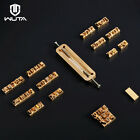 WUTA Custom Leather Alphabet  Number Stamp Embossing Leather Wood Craft Tool