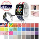 Sports Silicone Bracelet Strap Band For Apple Watch 38mm/42mm iWatch Series 1/2