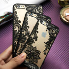 Flower Clear Ultra-thin Silicone Case Cover Protector For IPhone 5/6/6S/6 Plus
