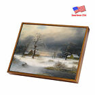 """HD Black Framed Oil Painting Print on Canvas ArtWall Deco 12""""x12"""" 7 Size FP14"""