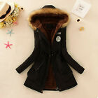 Womens Warm Long Coat Fur Collar Hooded Jacket Slim Winter Parka Outwear Coats <br/> S-XXXL Plus Size ❤ Sameday Dispatch ❤ In Stock ❤ Thick