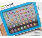 Y-PAD YPAD CHILDRENS LEARNING TABLET ENGLISH COMPUTER KIDS TOY IPAD PINK BLUE