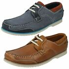Mens Clarks Boat Shoes - Kendrick Sail