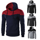 Winter Men Slim Hoodie Warm Hooded Sweatshirt Coat Jacket Outwear Sweater