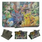 "Pokemon Pikachu Cartoon Case  for 9.7"" 10.1"" Universal Tablets PU Leather Cover"