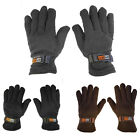 2 Pairs: Refael Collection Men's SubzEros Sport Fleece Lined Gloves